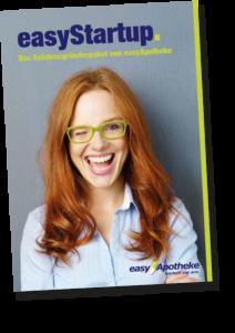 Broschüre easyStartup – das Existenzgründerpaket von easyApotheke