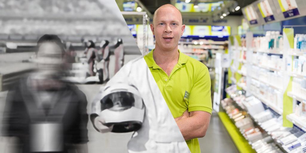easyApotheke - Der Rennfahrer ist der Kooperationspartner